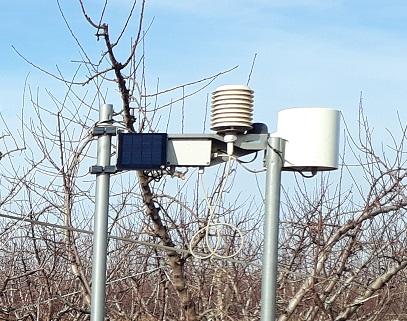 Station météo agrométéorologie