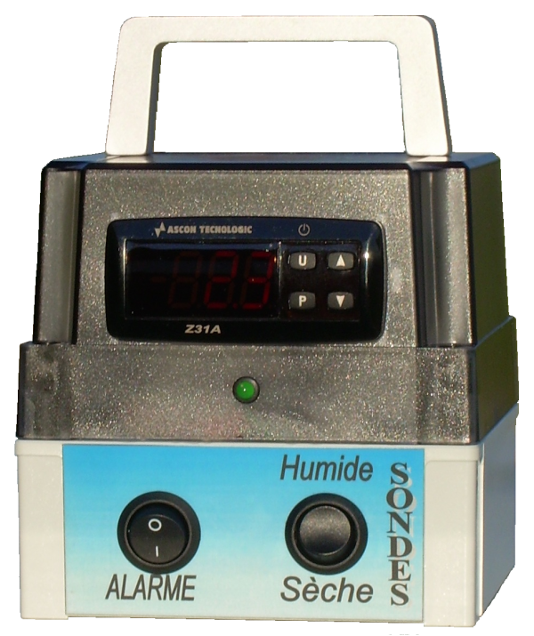 Thermomètre Alarme à lecture digitale
