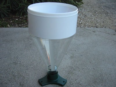Pluviomètre manuel 100 mm